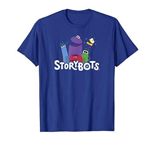 StoryBots Group Shot Logo T-Shirt