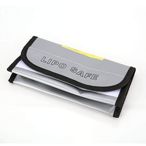 ACEHE Bolsa de Seguridad para batería, ignífugo LiPo Bolsa para batería LiPo Safe Guard Caja de Carga Bolsa Bolsa para Saco Ignífugo A Prueba de explosiones para RC Modelo Drone Car