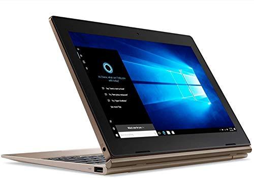 Lenovo Ideapad D330 81H300AKIN 10.1-inch Detachable Laptop (2-in-1) (N4000/4GB/128 GB SSD/Windows 10 Pro/Integrated Graphics), Bronze