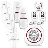 XODO PK5 WiFi Smart Home Surveillance Security System Kit - Doorbell - PIR Motion Sensor - Door/Window Alarm Sensor - Siren Alarm - Bundle Kit