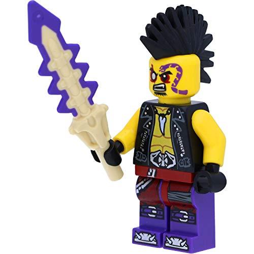 LEGO Ninjago Minifigur: Eyezor / Piratenauge (Gefolgsmann von Master Chen) mit Schwertern