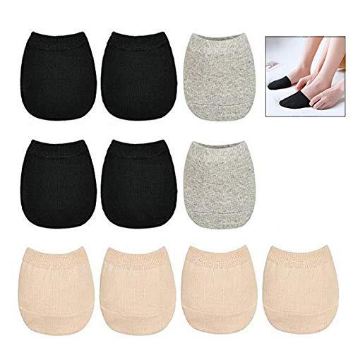 iPobie 5 Paar Zehlinge Füßlinge Socken Zehensocken Halbe Socken Damen