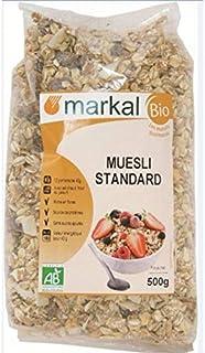 Organic Muesli by Markal ,500gm (Brown)
