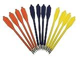 Shop SoftAir® 12 Frecce Freccette in ABS e Metallo per Balestra Colorate Freccia Tiro a Bersaglio