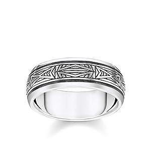 Thomas Sabo Unisex-Ring Ornamente silber 925 Sterlingsilber TR2277-637-21-68