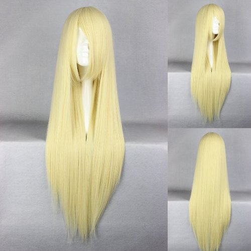 Ladieshair Cosplay Perücke blond 80cm glatt loveless AGATSUMA SOUBI