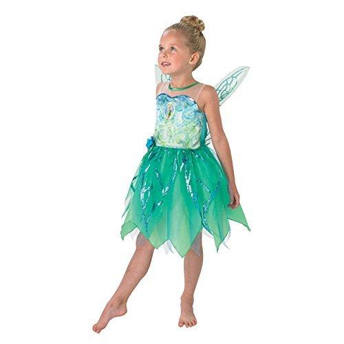 Rubbies - Disfraz de hada para niña, talla 5-6 años (888827M)