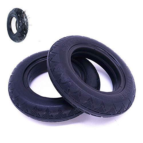 CHHD Neumáticos para patinetes eléctricos, 6x1 1-4 Neumáticos sólidos a Prueba de...