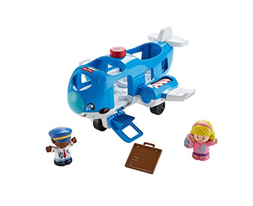 Fisher-Price 887961544824 Little People Travel Together Airplane Activity Toy