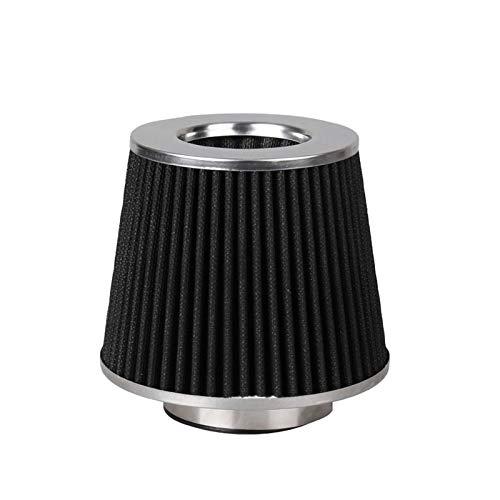 """furong Black 3-Zoll 3""""Luftfilterfluss Kaltlufteinlass für Universalfahrzeug 155mm Höhe AF015"""