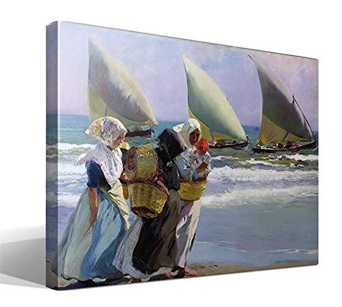 Cuadro Canvas Las Tres Velas de Joaquín Sorolla y Bastida