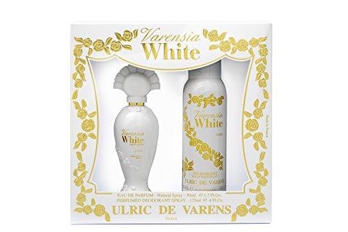 Ulric de varens Coffret varensia White Eau de Parfum 50ml + Desodorante 125ml