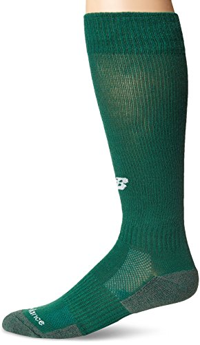 New Balance Unisex Performance All Sport Over the Calf Socks, Medium,Hunter Green