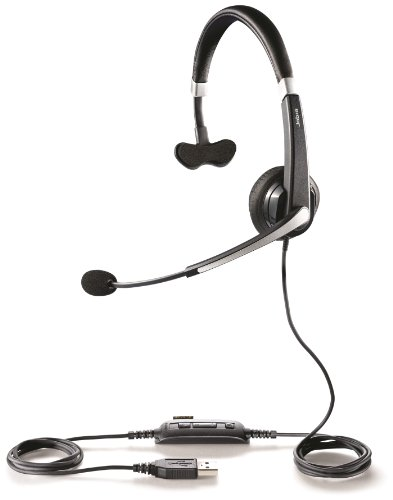 Jabra UC VOICE 550 Mono Corded Headset for Softphone