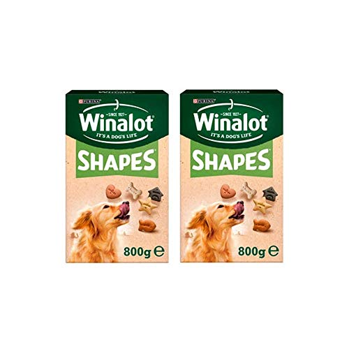 Winalot Wholesome 5 Shape Varieties Dog Adult Treat Biscuits 800g (2 Pack)