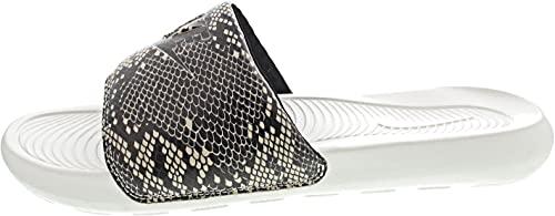 Nike W VICTORI One Slide Print, Scarpe da Ginnastica Donna, Desert Sand/Black-Summit White, 42 EU