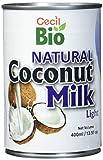 Cecil Bio Latte di cocco, naturale, 9% grassi, confezione da 3