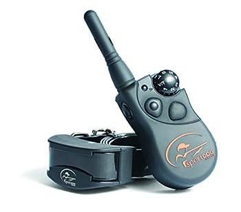 SportDOG – Système avec Collier de Dressage pour Chien, Télécommande SportTrainer, Submersible, 7 Niveaux de Stimulation (Électrostatique, Vibration, Signal Sonore) - Portée 450 m
