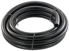 Little Giant 566184 T-2-25 BFPVC Flex PVC Tubing, 2-Inch by 25-Feet, Black