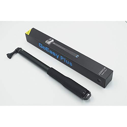 Selfie Stick Tripod Bluetooth Remote Adapter Retractable Non-Slip Stick Suit für Gopro Kompaktkameras Spiegelreflexkamera und iPhone, Huawei, Samsung und andere Smartphones,Black