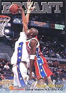 1996-97 Kobe Bryant 1996 Scoreboard #15 HIGH SCHOOL Rookie Card