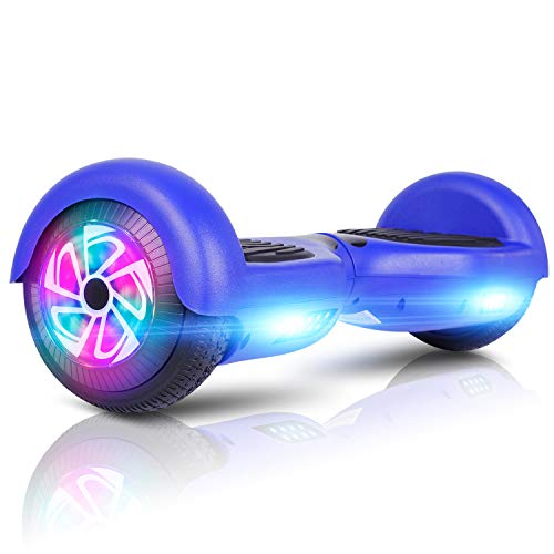 """LIEAGLE Hoverboard, 6.5"""" Self Balancing Scooter Hover Board with UL2272 Certified Wheels LED Lights for Kids Adults(Blue)"""