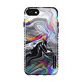 Akna Schutzhülle für iPhone 8 und iPhone 7, Marmor, flexible Silikon-Schutzhülle für iPhone 8 und iPhone 7 (893-U.K)