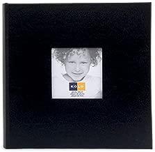 HUDSON 2-up black leather album by Kolo - 4x6