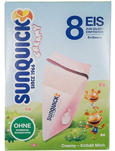 Sun Lolly - Sunquick Creamy Eis Erdbeere