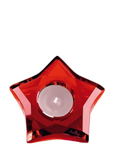 Rosenthal - Stars Tischlicht - Teelichthalter Rot