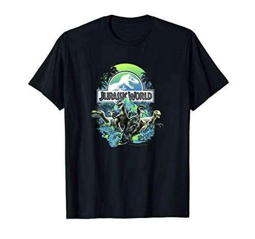 Jurassic World Velociraptor Squad Jungle Team Camiseta