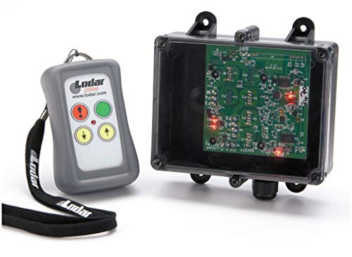 LODAR 2-Function Wireless Winch Remote Control; For Use With Electric or Hydraulic Winch With 12V Start Up