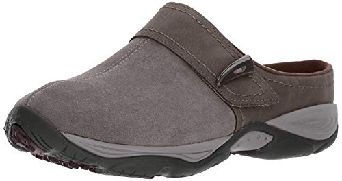 Easy Spirit Women's Eliana Mule,medium grey/brown suede,7.5 M US