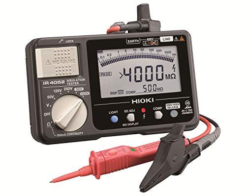 HIOKI(日置電機) IR4052-11 5レンジ デジタル絶縁抵抗計(スイッチ付リード9788-01付)
