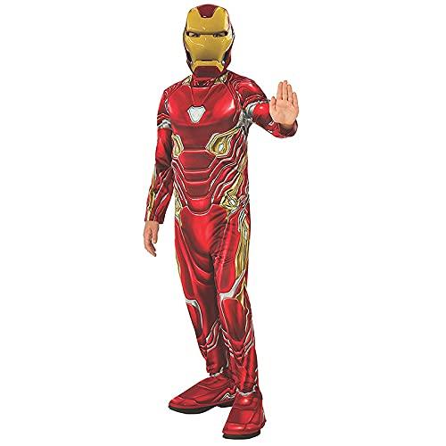Child's Superhero Lron Man Muscle Classic Costume Suit,Halloween Marvel Comics Cosplay Costum for Boys