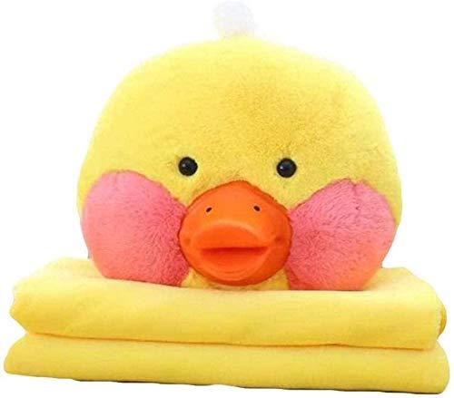 Gelbe Ente Triple Handwärmer & Klimaanlage Decke & Kissen Plüschspielzeug YMMSTORY