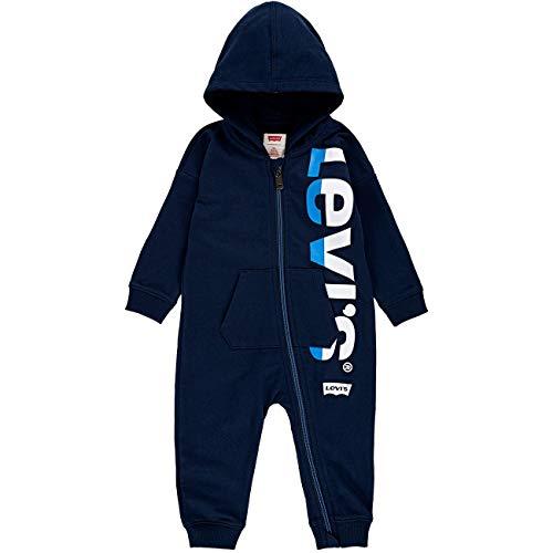Levi's Kids Baby-Jungen LVN Colored Zip Play All Day C202 Kleinkind-Babyausstattung,...