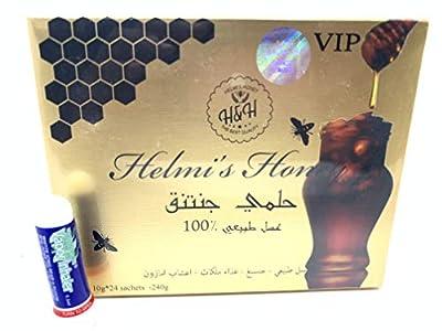 5 Boxes Helmi's Honey V.I.P with Gensing Royal Jelly Amazon Herbs 10g Sachets 24 Per Box