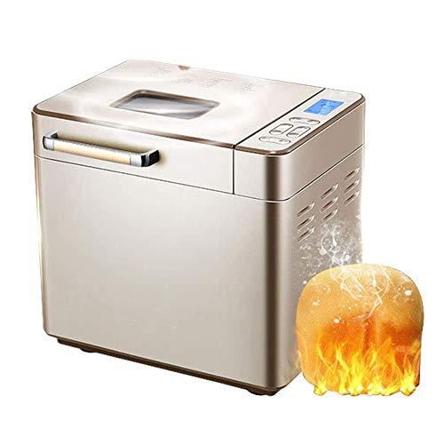 JJLL Automático programable máquina de Pan, Inicio de Bricolaje máquina de Pan, automática Pasta de amasamiento de la máquina Multi-función Inteligente Pan Asador 25 Menú/sincronizador 13H