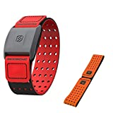 Scosche Rhythm+ Heart Rate Monitor Armband (1st Generation) - Optical Heart Rate Armband Monitor with Dual Band Radio ANT+ and Bluetooth Smart