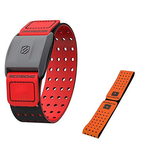 Scosche Rhythm+ Heart Rate Monitor Armband Optical Heart...