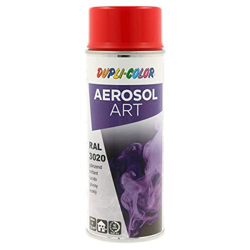 DUPLI-COLOR 722530 Aerosol Art, RAL 3020 Verkehrsrot Glänzend