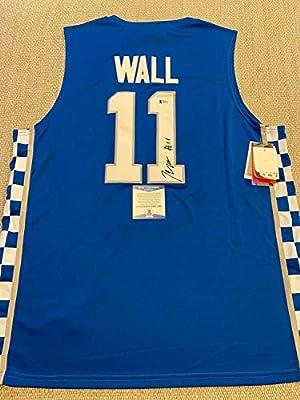 John Wall Autographed Signed Beckett COA! Autographed Kentucky Wildcats Basketball Jersey