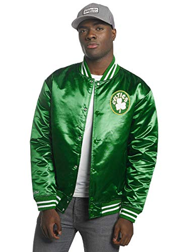 Mitchell & Ness Herren College Jacke HWC Team Boston Celtics grün XL