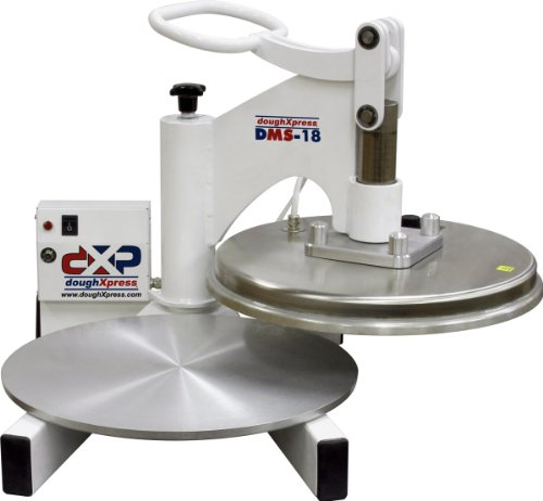 DoughXpress - 70873 DMS-18 Manual Swingaway Dough Press with 18' Platens, 120V, 18-3/8' Width x 20'...