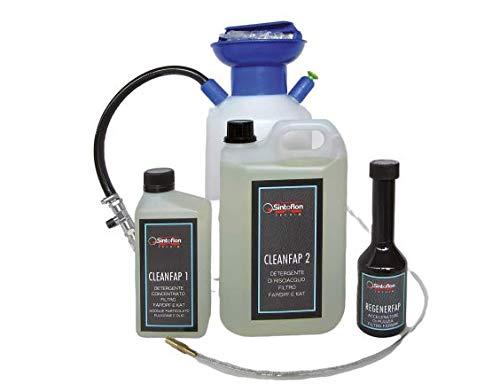 Kit pulizia FAP c/pompa,liquidi detergenti e acces