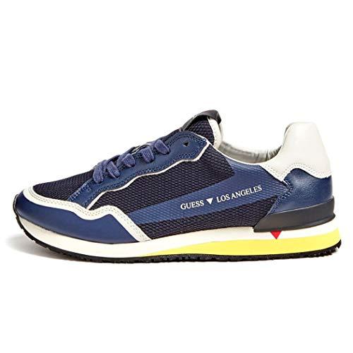 Guess Genova - Zapatillas deportivas para hombre Shoes Run, deporte, correr, tiempo libre, FM7GENFAB12