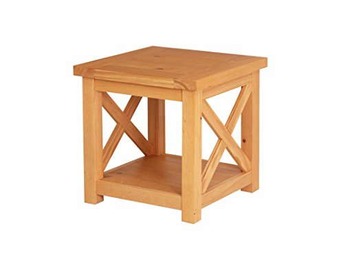 Home Styles 5524-20 Country Lodge End Table, Honey Pine Finish