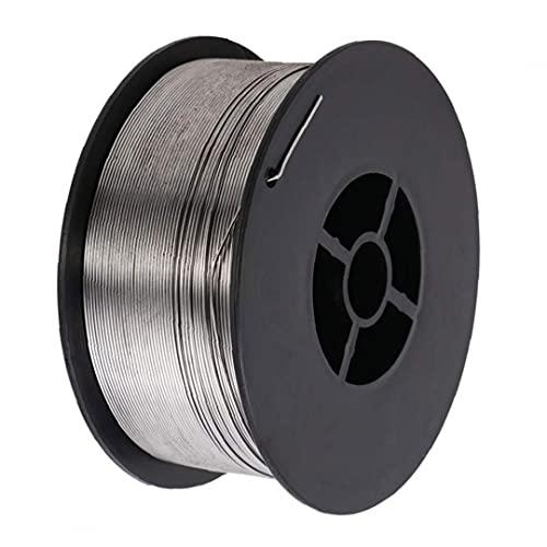 Schweißdraht E71T-GS 0,8 mm 1 kg Legierung Gaslose Flux Core-Schweißdraht Spool Silber 1ROLL Stellen Sie sicher, Heizung Faster