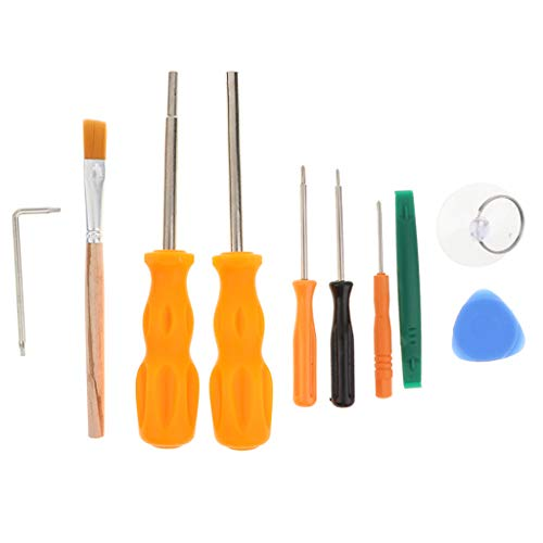 Homyl Security Screwdriver Kit Set 10 in 1 Prying Repair Tools for Xbox 360/Xbox ,